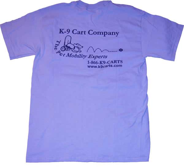 K-9 Cart dog wheelchair logo T-shirt