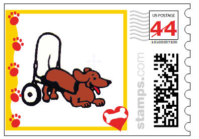 K-9Cart.com Photo Stamp